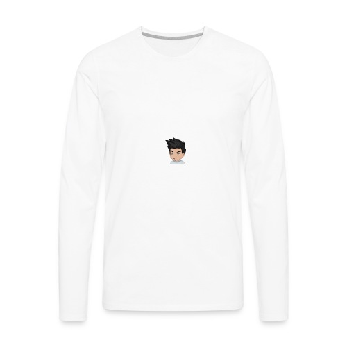 NoroNinja YouTube Logo - Men's Premium Long Sleeve T-Shirt