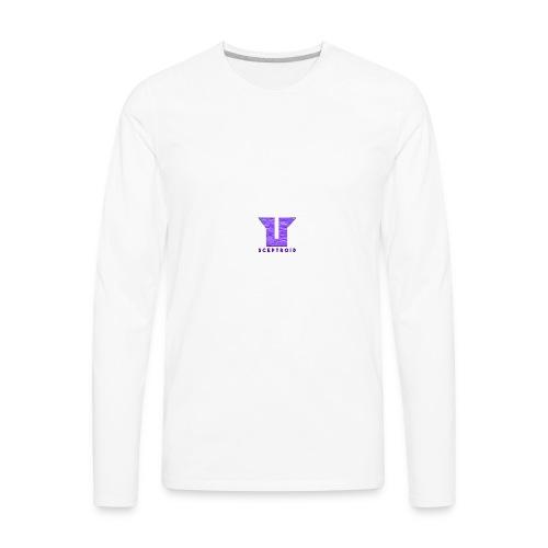 Old ScepTroid Logo Sweatshirt! - Men's Premium Long Sleeve T-Shirt