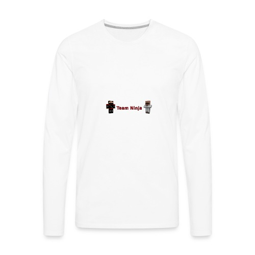 Team Ninja - Men's Premium Long Sleeve T-Shirt