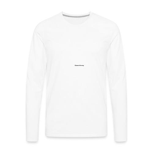 ghettoluxurylogo - Men's Premium Long Sleeve T-Shirt