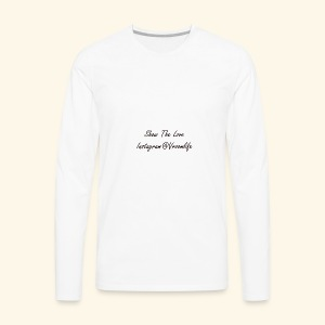 VroomLife Support - Men's Premium Long Sleeve T-Shirt
