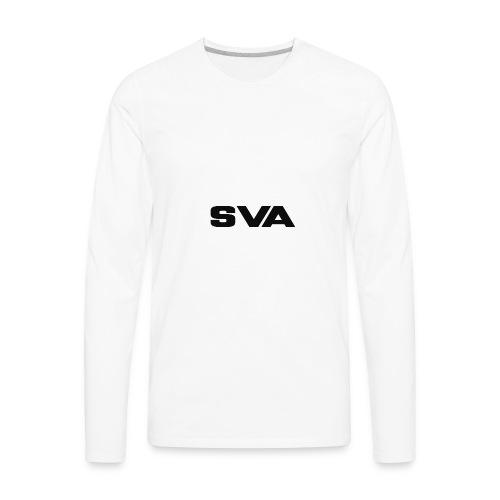 SVAlogoblack - Men's Premium Long Sleeve T-Shirt