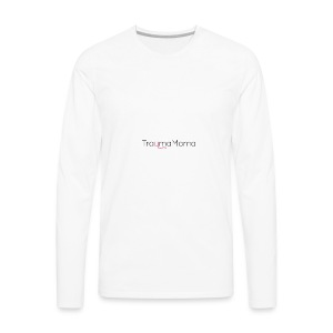TraumaMama - Color - Men's Premium Long Sleeve T-Shirt