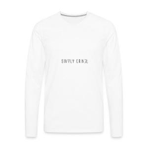 Simply Cringe - Men's Premium Long Sleeve T-Shirt