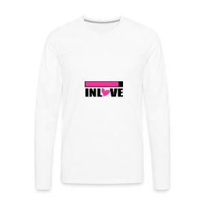 Inlove - Men's Premium Long Sleeve T-Shirt