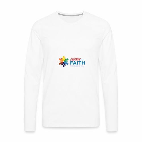 Children of Faith Logo - Men's Premium Long Sleeve T-Shirt