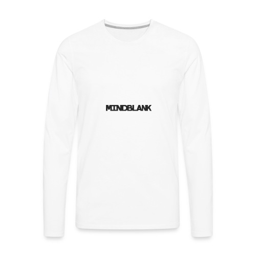 Mind Blank Sports - Men's Premium Long Sleeve T-Shirt