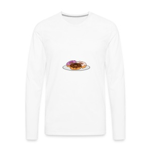 Donuts For Life - Men's Premium Long Sleeve T-Shirt