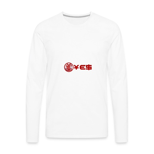 YEScoinBrand - Men's Premium Long Sleeve T-Shirt