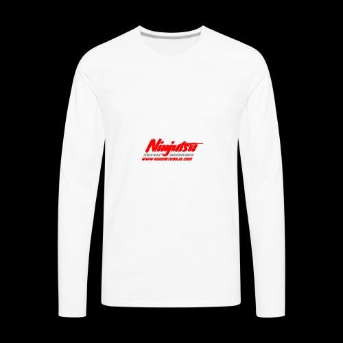 Ronin Ryu Ninjutsu Member Collection - Men's Premium Long Sleeve T-Shirt