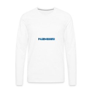 FaZeMessi10 Merch - Men's Premium Long Sleeve T-Shirt