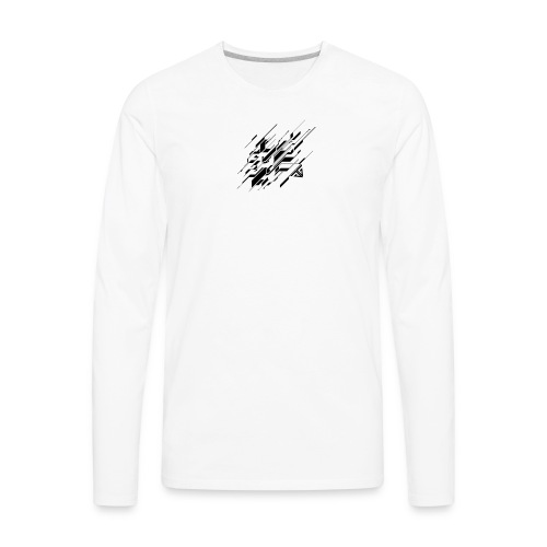 Abstract GG - Men's Premium Long Sleeve T-Shirt