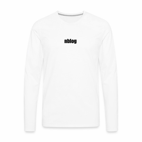 nblog - Men's Premium Long Sleeve T-Shirt