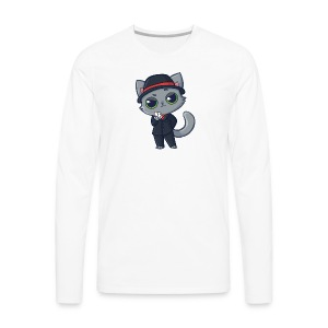 Casino Cat - Men's Premium Long Sleeve T-Shirt