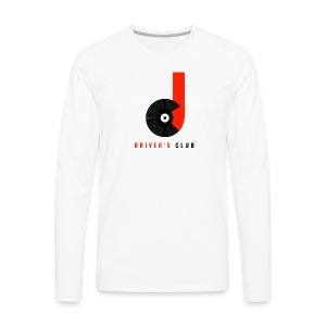 Drivers Club Logo - Men's Premium Long Sleeve T-Shirt