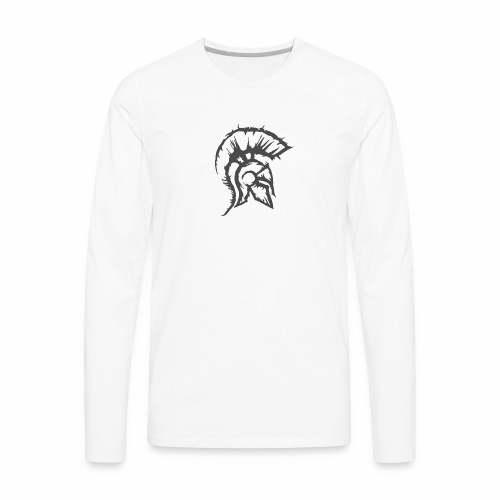 the knight - Men's Premium Long Sleeve T-Shirt