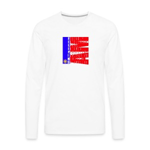I AM FILIPINO colored - Men's Premium Long Sleeve T-Shirt