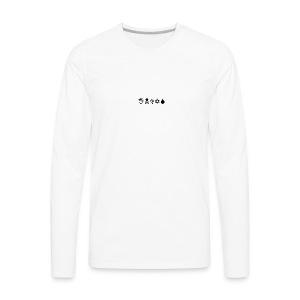 Indys (WingDings Font) - Men's Premium Long Sleeve T-Shirt