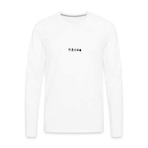 Indys (WingDings Font) - Men's Premium Long Sleeve T-Shirt