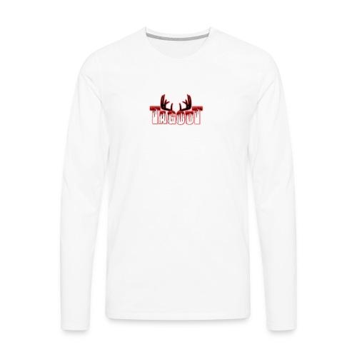 Tagout Bloody Antlers - Men's Premium Long Sleeve T-Shirt