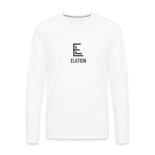 ElationDarkLogo - Men's Premium Long Sleeve T-Shirt