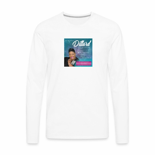 Host Dr. Seleaveya Dillard - Men's Premium Long Sleeve T-Shirt