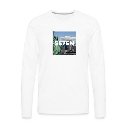NEW YORK CITY - Men's Premium Long Sleeve T-Shirt