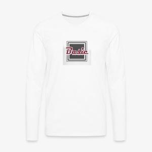 Basic logo - Men's Premium Long Sleeve T-Shirt