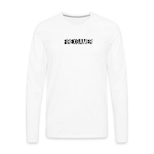 Channel Logo - Men's Premium Long Sleeve T-Shirt