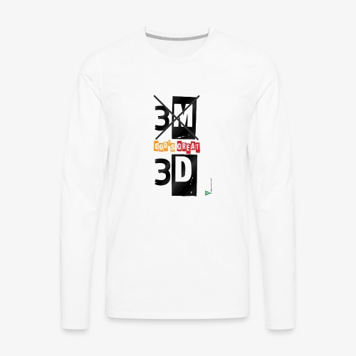 My great GOD - Men's Premium Long Sleeve T-Shirt