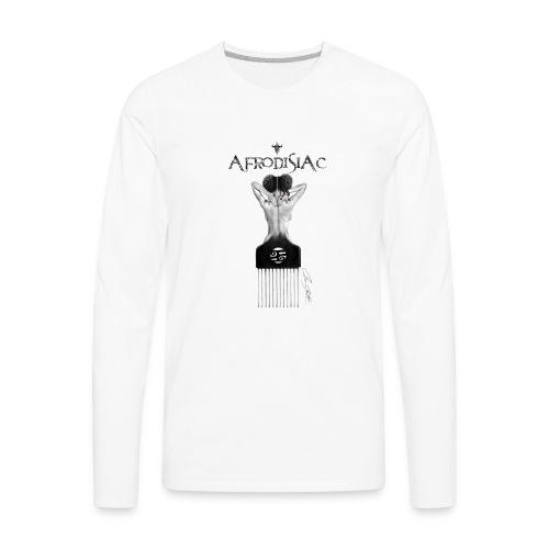 tshirtAfroArtD2 copy - Men's Premium Long Sleeve T-Shirt