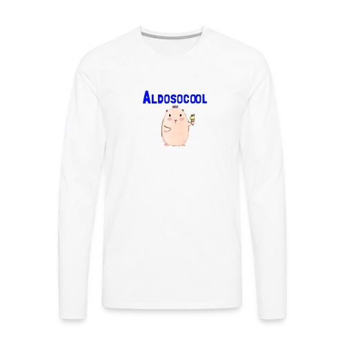 Guinea pig merchandise - Men's Premium Long Sleeve T-Shirt