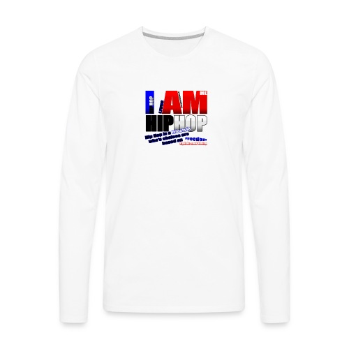 blueredhiphoptee - Men's Premium Long Sleeve T-Shirt