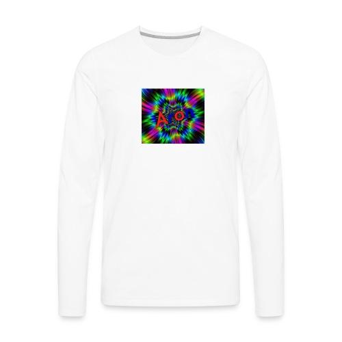 The rainbow - Men's Premium Long Sleeve T-Shirt
