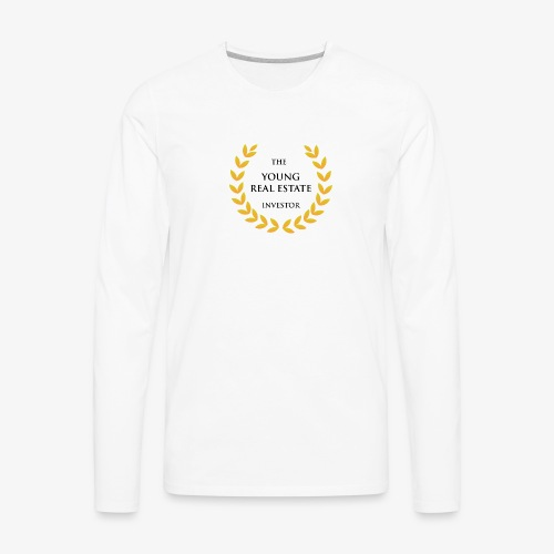 The Young Real Estate Investor - Men's Premium Long Sleeve T-Shirt