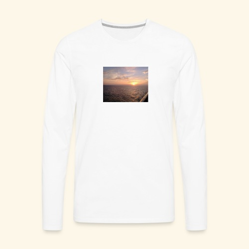 Watching the Sunset! - Men's Premium Long Sleeve T-Shirt