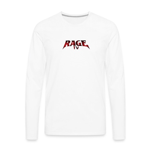 RAGE TV - Men's Premium Long Sleeve T-Shirt