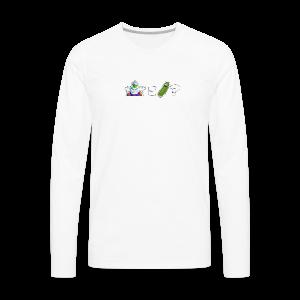 Piccolo is Pickle Rick? - Men's Premium Long Sleeve T-Shirt