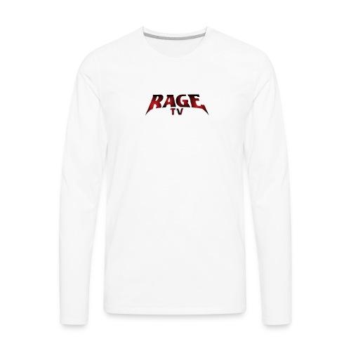 RAGE TV - Men's Premium Long Sleeve T-Shirt