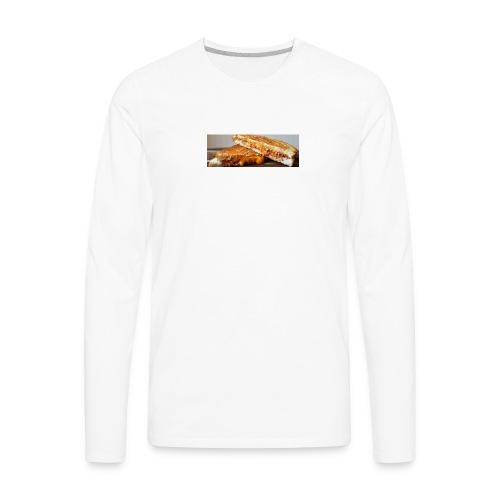 Grille cheese - Men's Premium Long Sleeve T-Shirt