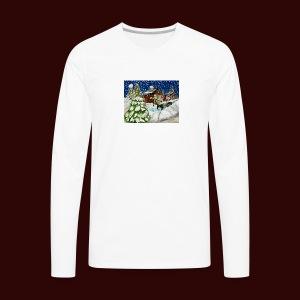 Old Christmas - Men's Premium Long Sleeve T-Shirt