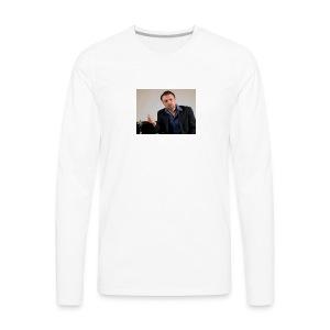 Justin Stoney as Leonardo - Men's Premium Long Sleeve T-Shirt