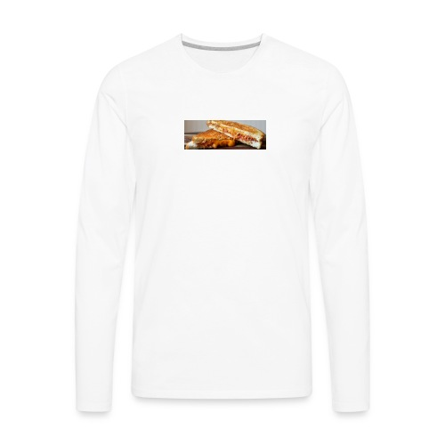 Grille cheese - Men's Premium Long Sleeve T-Shirt