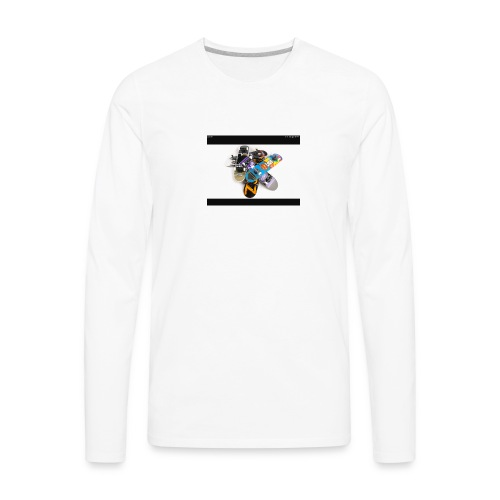 Skate board - Men's Premium Long Sleeve T-Shirt