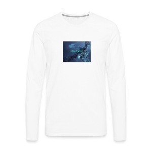 Neon blue - Men's Premium Long Sleeve T-Shirt