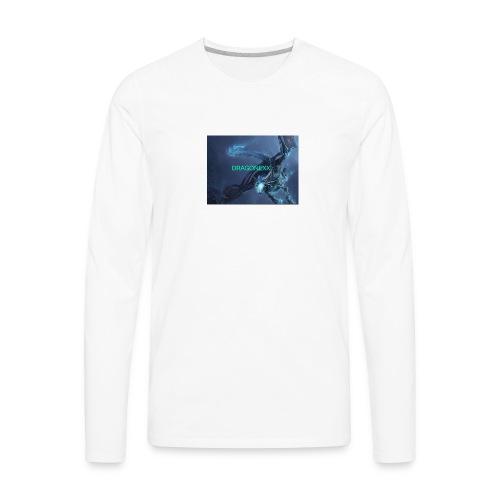 Neon blue - Men's Premium Long Sleeve T-Shirt