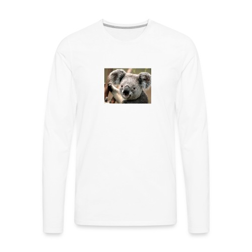 the koala shirt - Men's Premium Long Sleeve T-Shirt