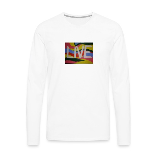@filtre3 - Be Live - Design can be customized - Men's Premium Long Sleeve T-Shirt