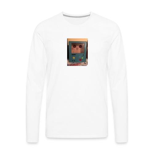 The robot - Men's Premium Long Sleeve T-Shirt