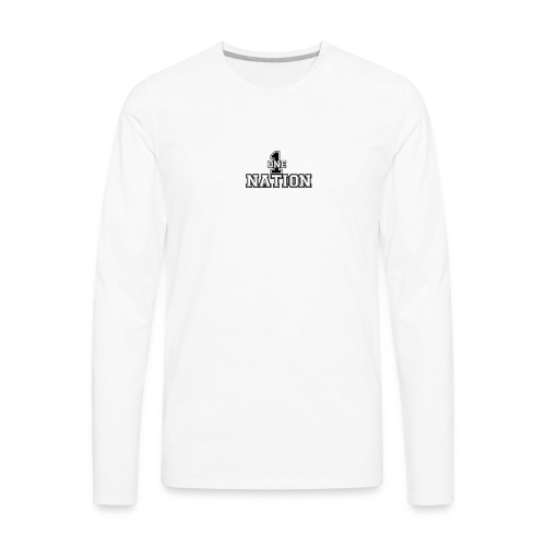 Number One Nation - Men's Premium Long Sleeve T-Shirt